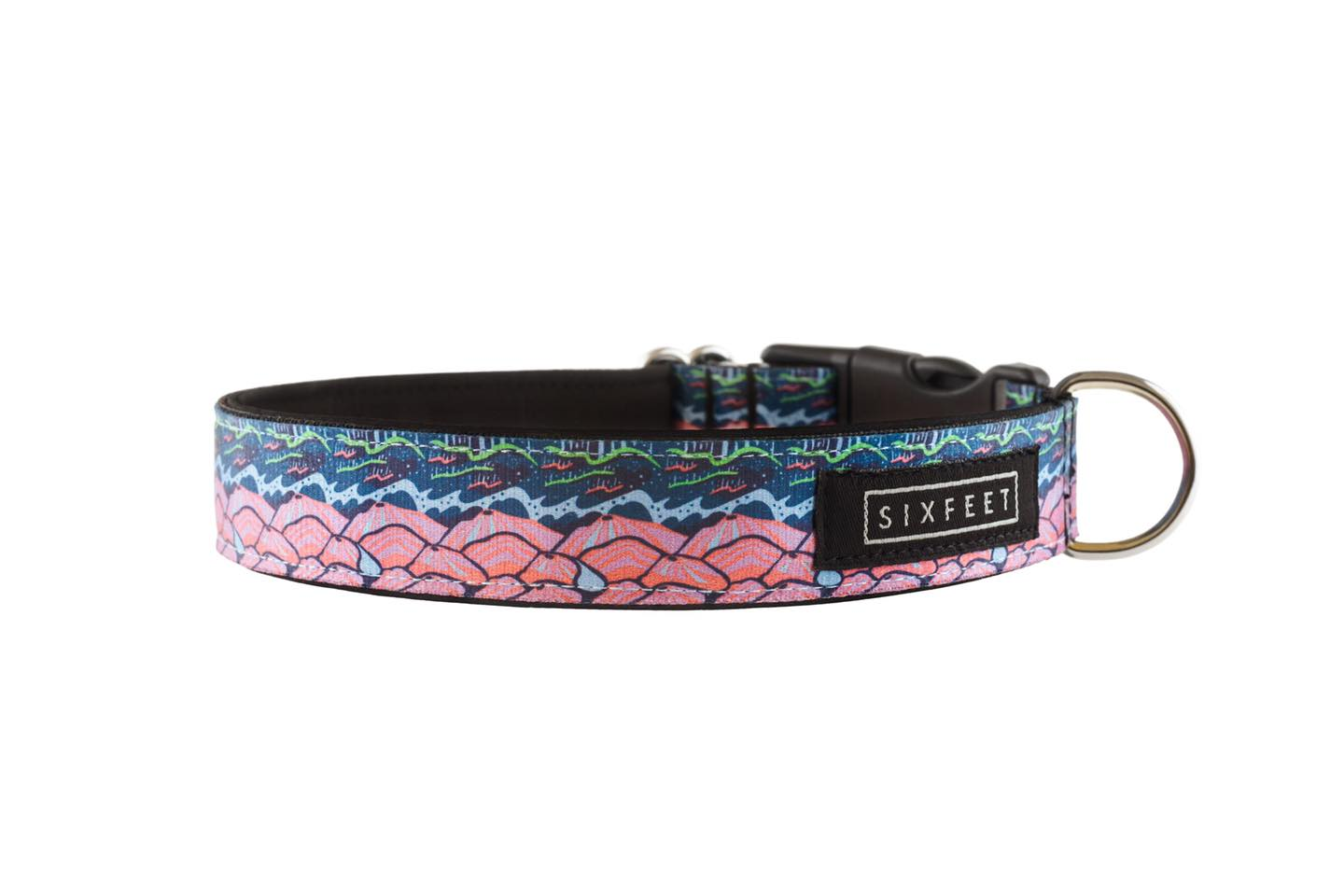 Iceland Trail Buckle Collar - 20mm wide