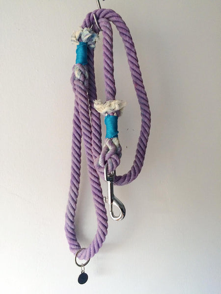 Cotton Rope Leash for smaller dogs - NORMAL LEASH