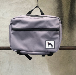 Waterproof walkbag - grey
