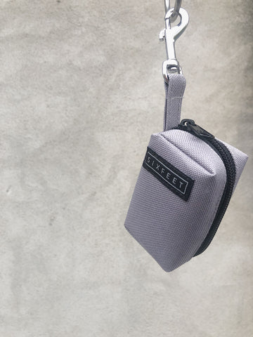 Poobag holder vegan grey