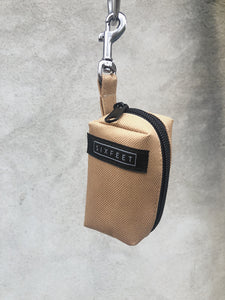Poobag holder vegan beige