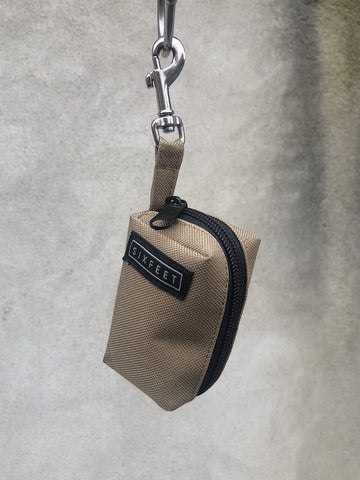 Poobag holder vegan khaki