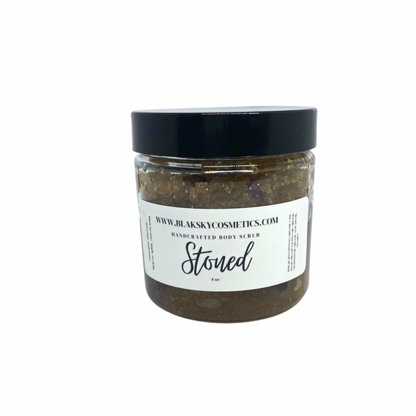 Stoned Body Scrub - BlakSkyCosmetics