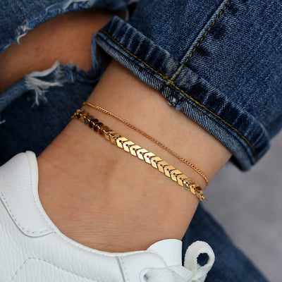 Greece Anklet