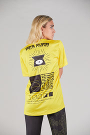 CORE TEE WMN YOKOIPRO - HYPE FIT. LOOKING GREAT VIBRANT YELLOW