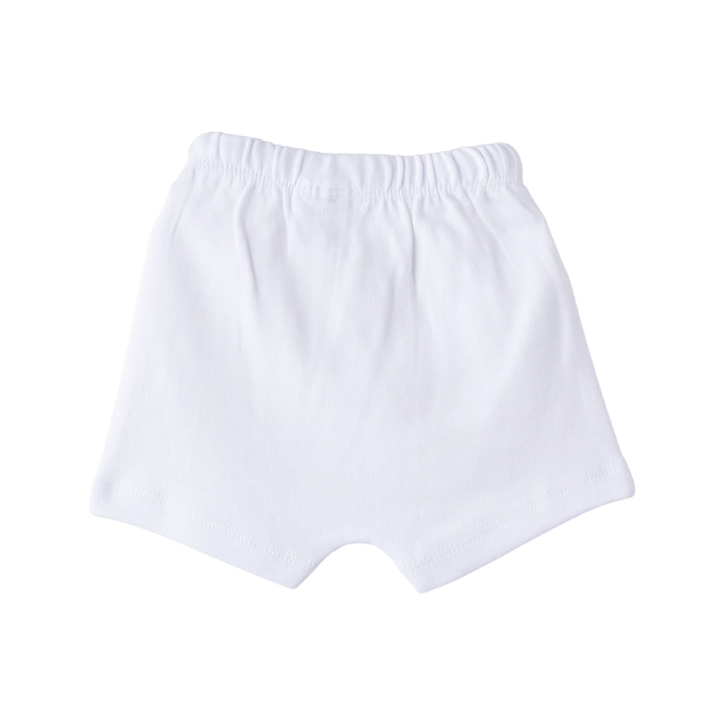 DrLeo Shorts for boys - White color - Drleo Kidswear