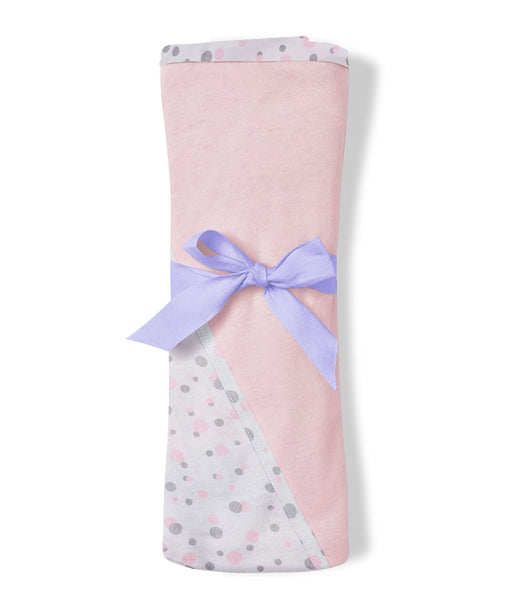 DrLeo Baby Receiving Blanket with Hood - Pink - Drleo Kidswear