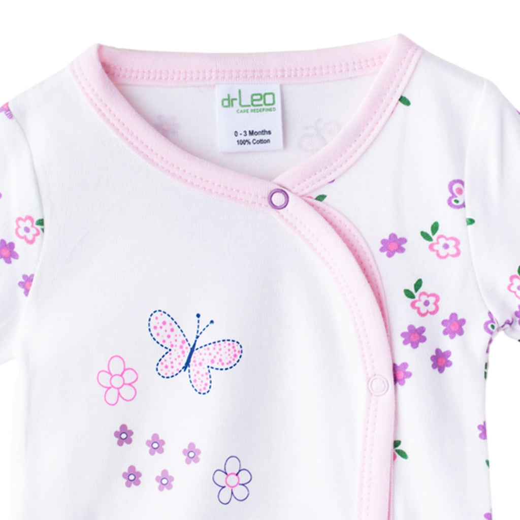 DrLeo Full Sleeve Jabala for Girls - Lovely Girl Print - Drleo Kidswear