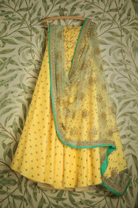 YELLOW GORGEOUS LEHENGA CHOLI WITH DUPATTA (BP-101)