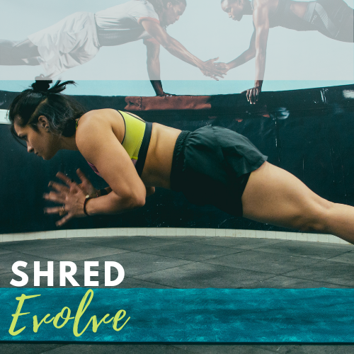 Bodyweight SHRED EVOLVE