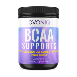 Ovoniq BCAA: Complete Muscle Gain & Recovery