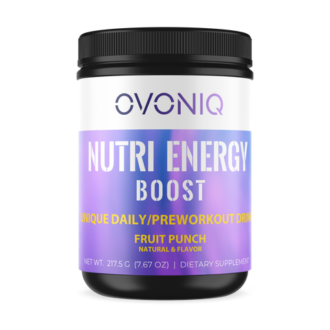 Nutri Energy Boost: Unique Daily Pre Workout Drink