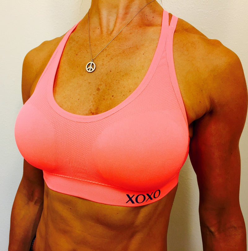 XOXO Double Strap Seamless Sports Bra
