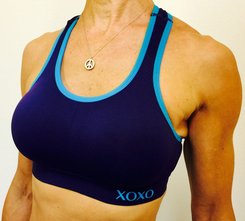 XOXO Racer Back Seamless Sports Bra