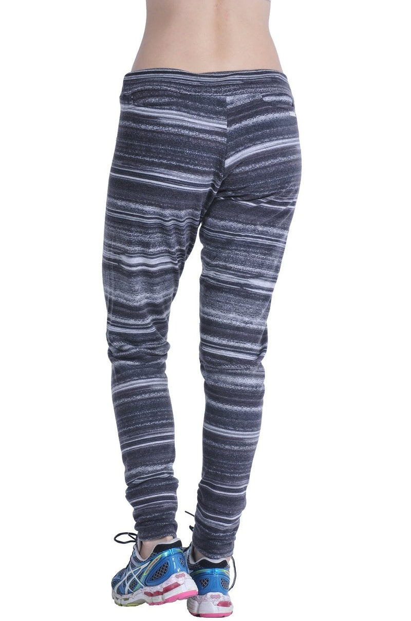 Bia Brazil Activewear Loose Fitness Pant PA4066 Charcoal Stripes