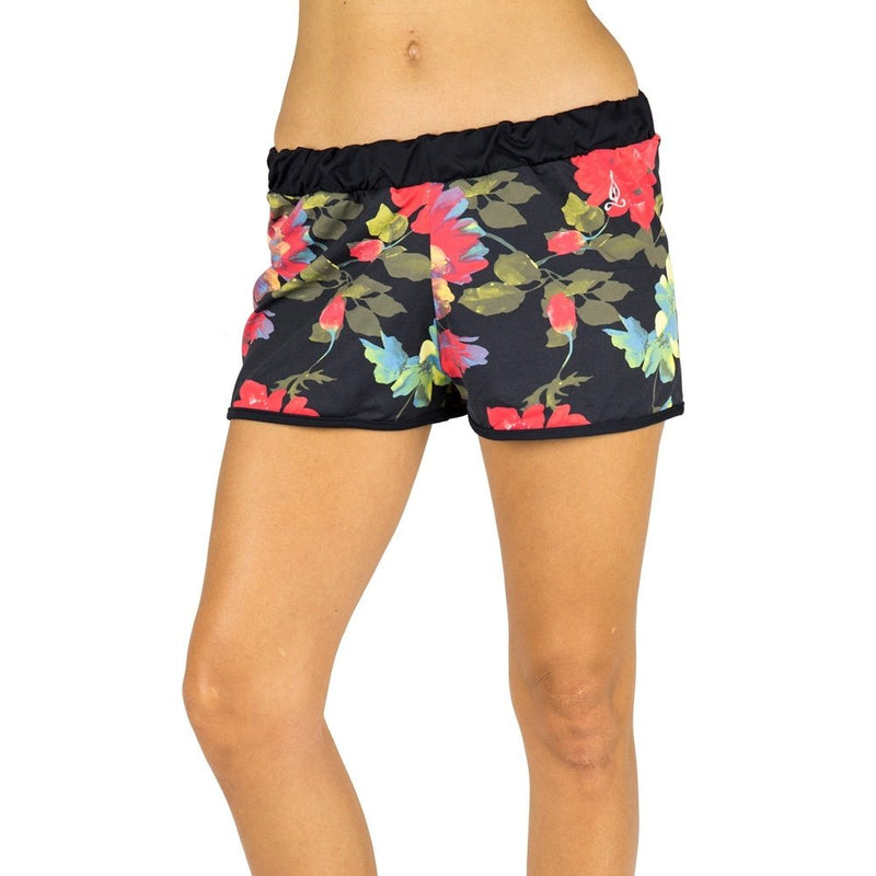 Final Sale Balance Fitwear Spring Shorts Spring Flower SS47