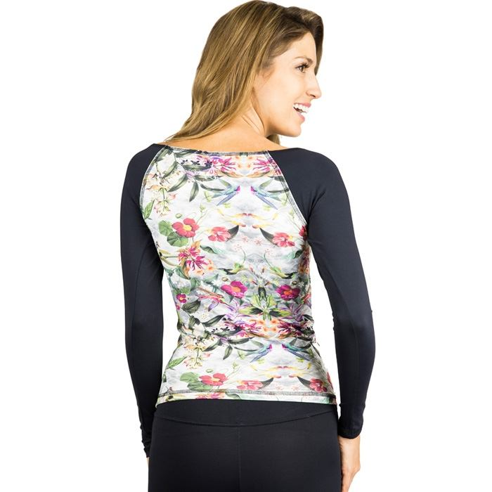Final Sale! Balance Fitwear Surf Shirt Humming Bird LS51