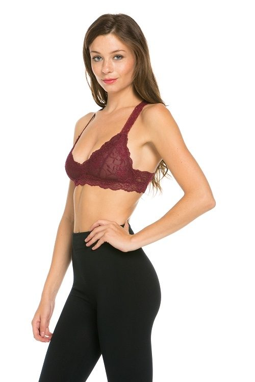 Final Sale! Gorgeous Racerback lined Bralette DG513N