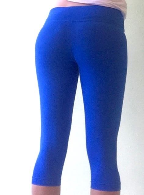 Final Sale! Balance Fitwear Basic Fusion Capri Royal Blue BC67