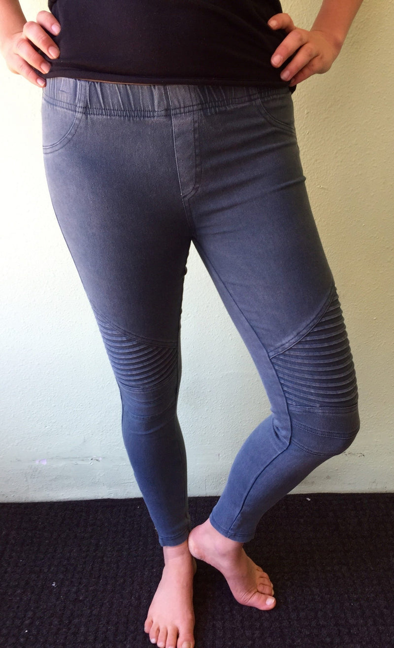 FINAL SALE Beulah Style Motorcycle Legging OP7019