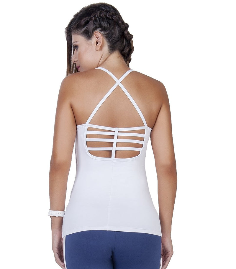 Bia Brazil Activewear Padded Camisole TT4464 White