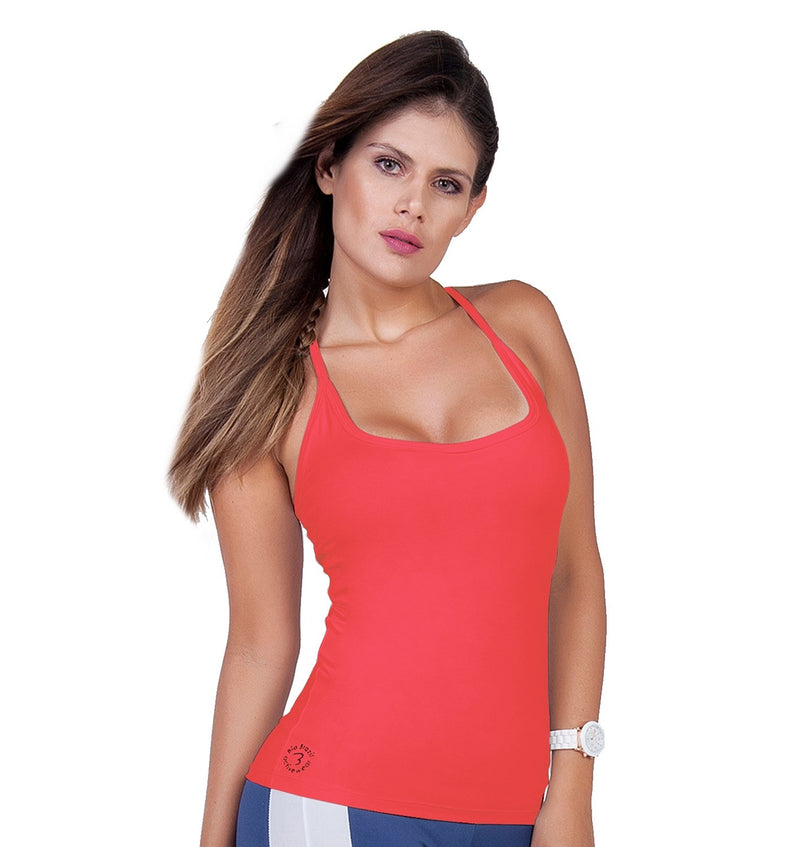 Bia Brazil Activewear Padded Camisole TT4464 Coral
