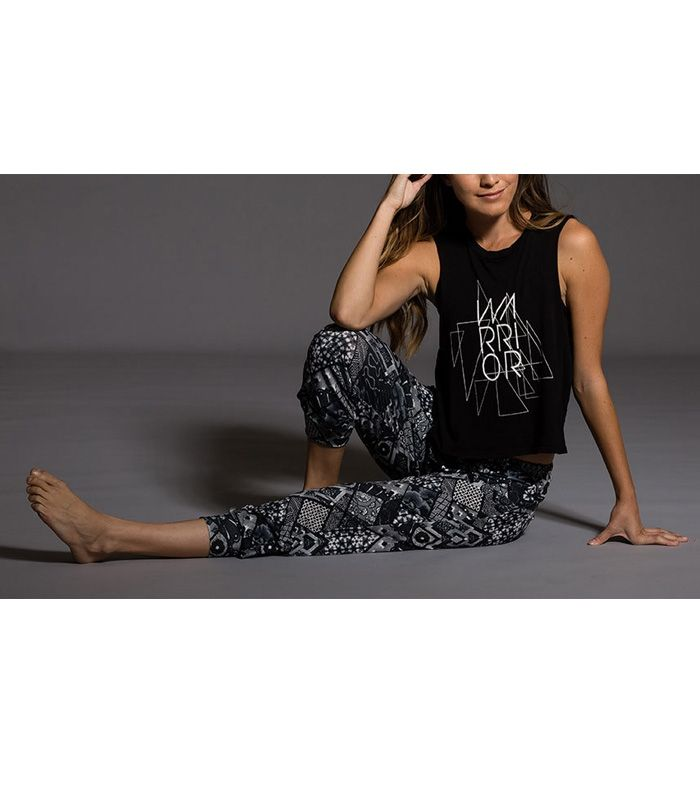 Final Sale Onzie Hot Yoga Muscle Tank 3019 Warrior