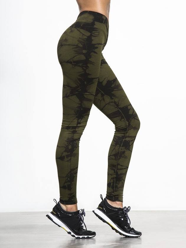 Final Sale! NUX USA V-Front Legging P068 Brigade