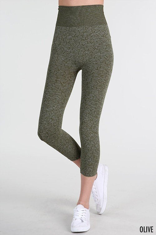 NikiBiki Two Tone Dye High Waist Legging NB6750