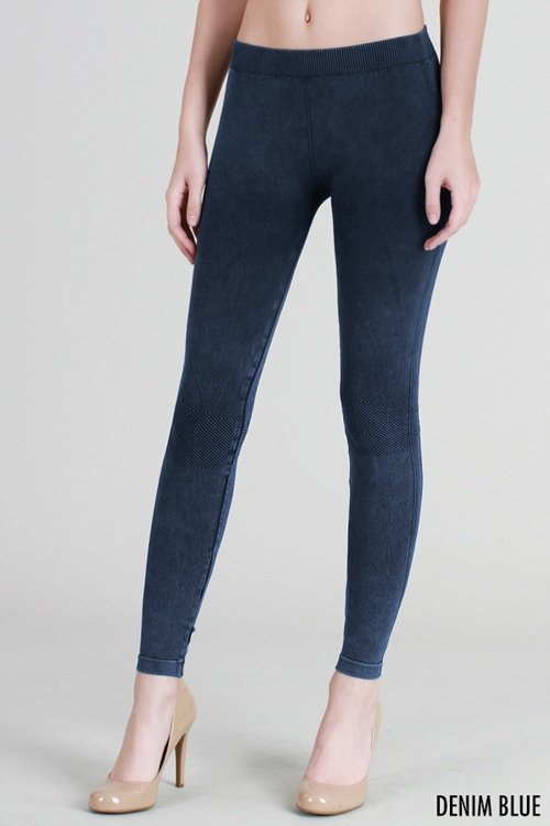 NikiBiki Vintage Knee Checker Legging NB6548