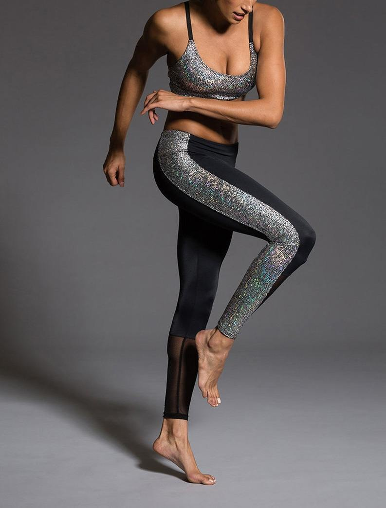 Last Chance! Onzie Hot Yoga Block Legging 239