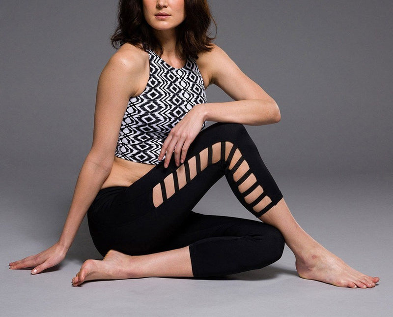 Final Sale Onzie Hot Yoga Elastic Capri 247