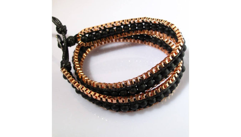 OMG Bling Hand Made Wrap Bracelet
