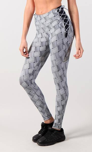 Equilibrium Activewear Legging 7001 Grey Weave