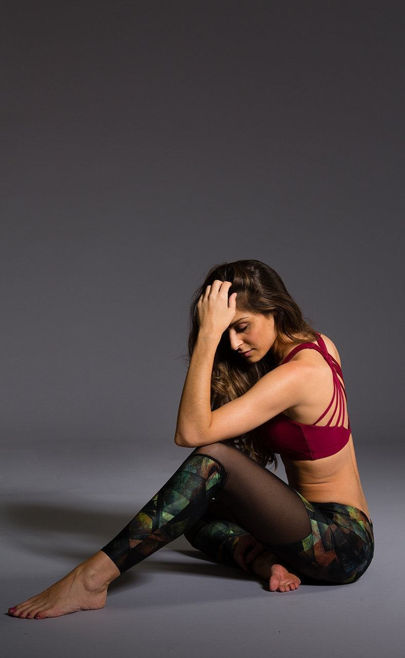 Holiday Deal! Onzie Yoga Chevron Track Legging 223