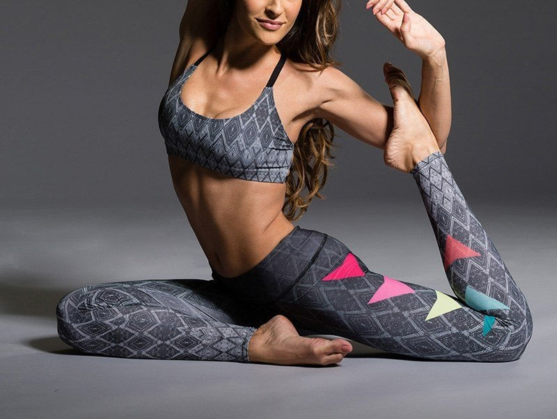 Final Sale Onzie Hot Yoga Graphic Leggings 229
