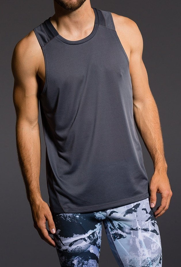 Final Sale! Onzie Hot Yoga Mens Muscle Tank 700