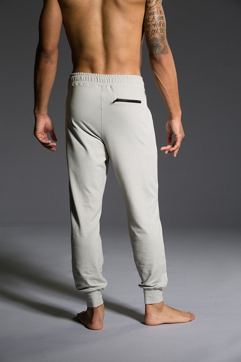 Final Sale Onzie Hot Yoga Mens Sweat Pant 506 Khaki