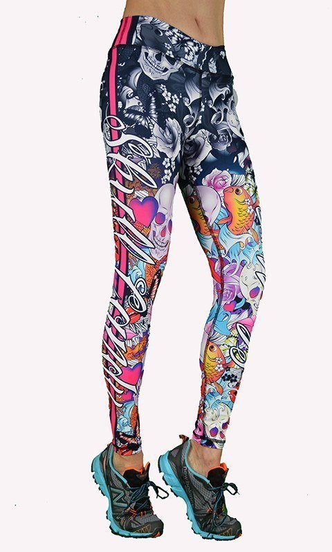 FINAL SALE! Shape Up Skull Candy Legging