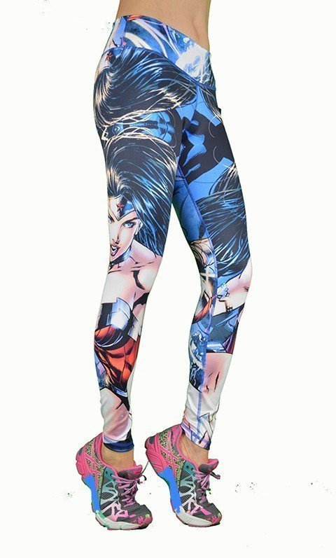 FINAL SALE! Shape Up Blue Eyed Wonderwomen Legging