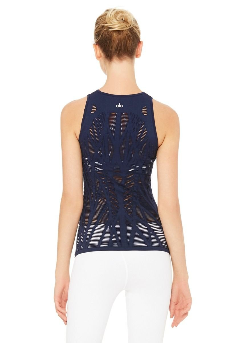 Alo Yoga Vixen Fitted Muscle Tank W2469R