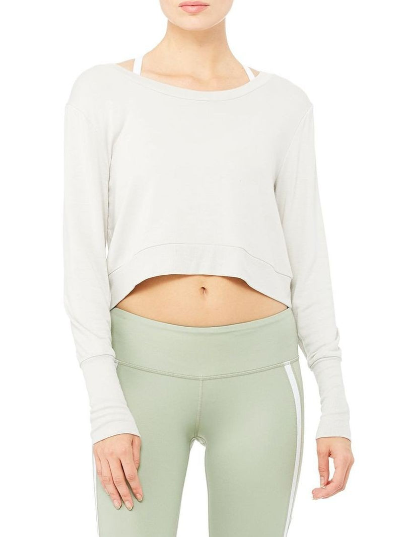 Alo Yoga Ava Long Sleeve Top W3226R