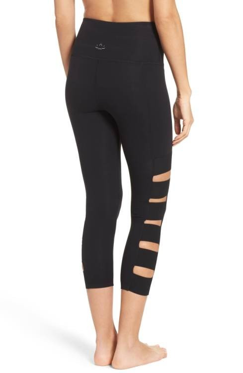 FINAL SALE Beyond Yoga Wide Band Stacked Capris SP3217