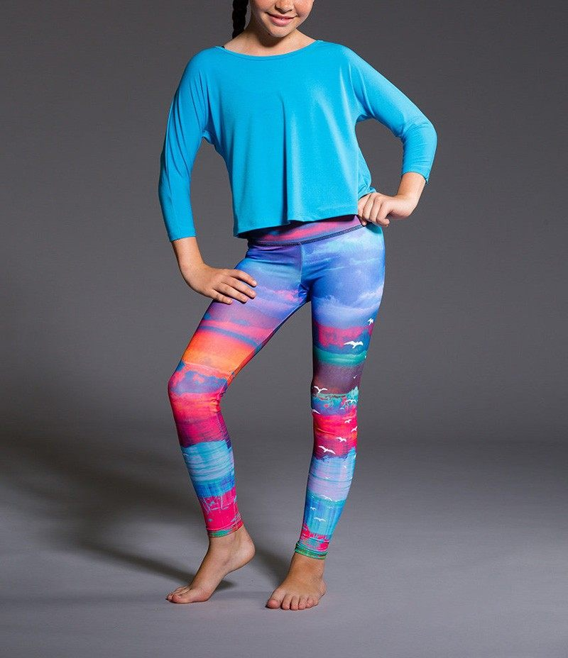 Final Sale! Onzie Youth Graphic Leggings 829