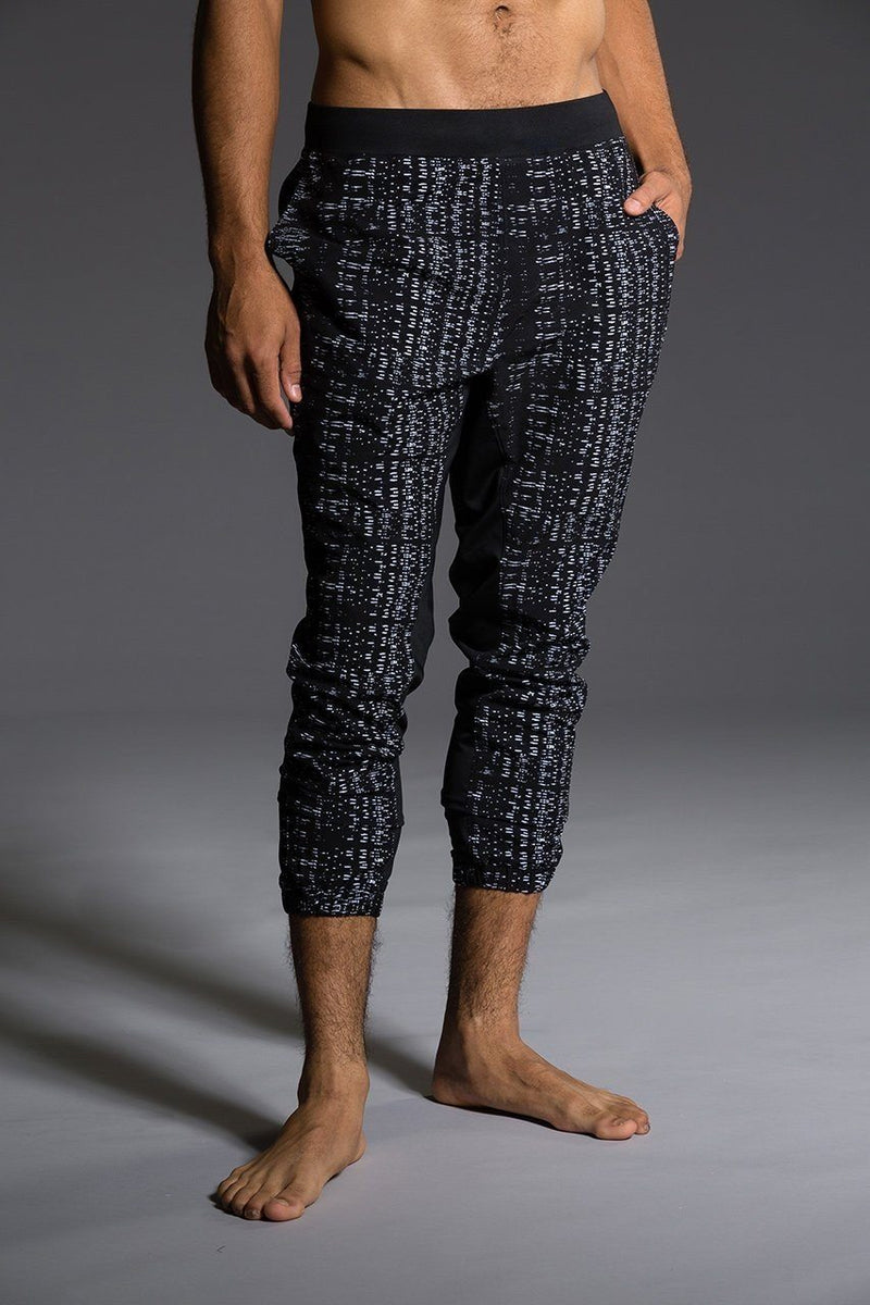 Final Sale Onzie Yoga Mens Woven Pant 507 Levels