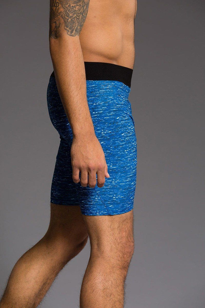 Last Chance! Onzie Hot Yoga Mens Fitted Shorts 508
