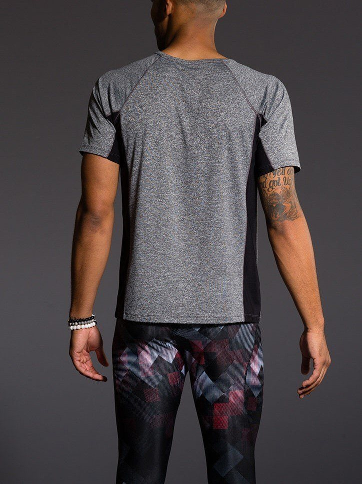 Holiday Deal! Onzie Hot Yoga Mens Raglan Short Sleeve top 701