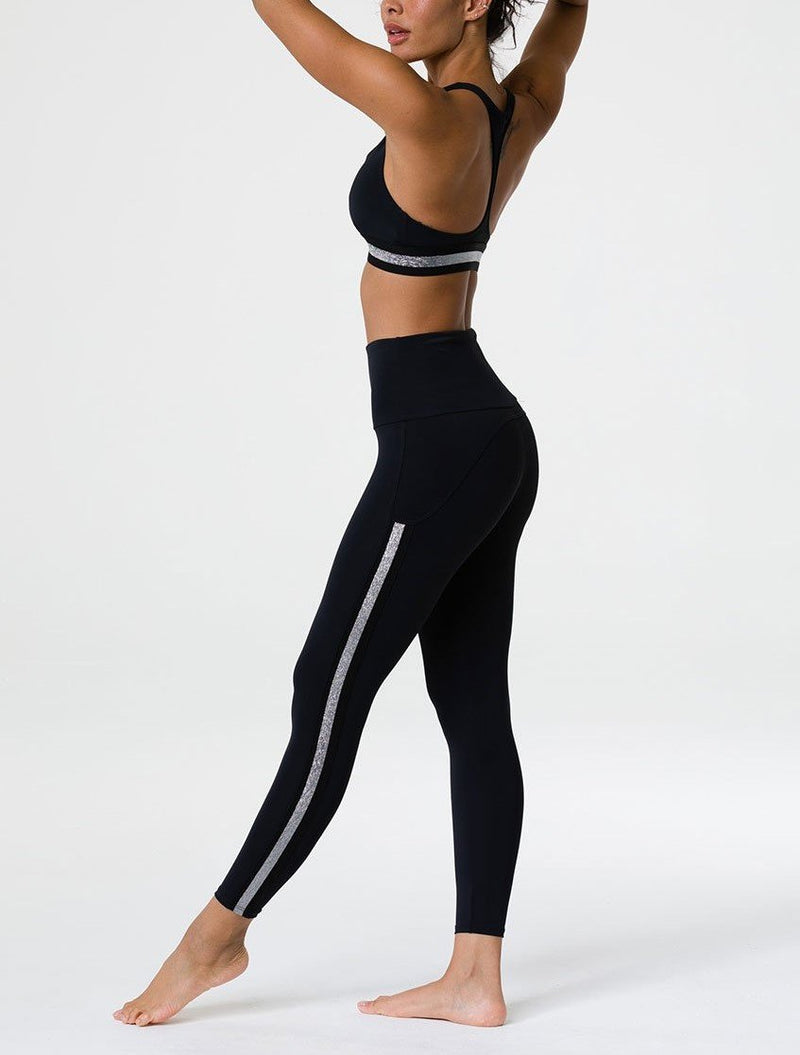 Super Deal! Onzie Side Runner Midi Legging 2061
