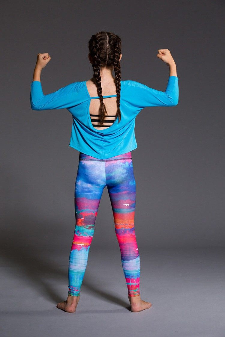 Final Sale! Onzie Youth Scoop Back Top 831