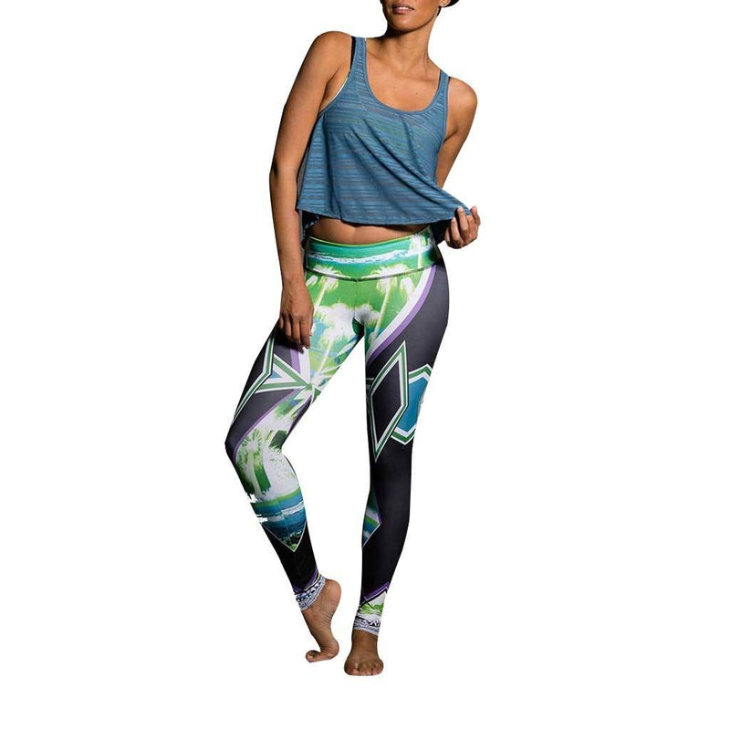 Last Chance! Onzie Hot Yoga Graphic Leggings 229